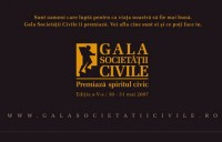 GALA SOCIETATII CIVILE – 2012
